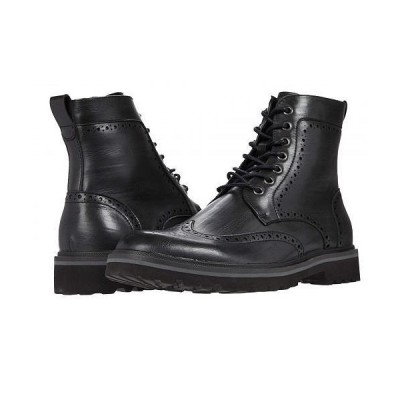 Kenneth Cole Reaction ケネスコール メンズ 男性用 シューズ 靴 ブーツ レースアップ 編み上げ Klay Lug Wt Boot - Black