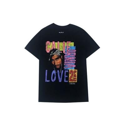 2Pac (Tupac Shakur) California Love S/S Tee Black XLサイズ Apparel