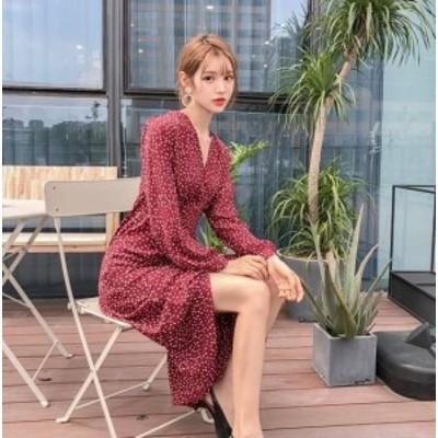 ロングワンピース ワンピース ロング丈 マキシワンピース ワンピース 大きいサイズ ゆったり 春ワンピース 春 韓国 ファッション レディ