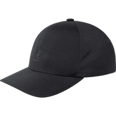 カンゴール 帽子 アクセサリー メンズ Flexfit Delta Baseball Cap Black