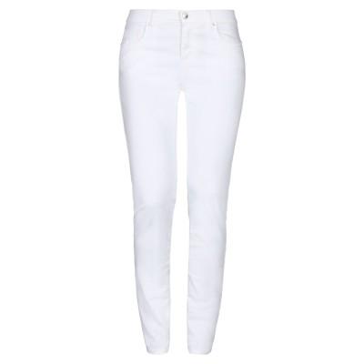 FIFTY FOUR パンツ ホワイト 32 コットン 97% / ポリウレタン 3% パンツ