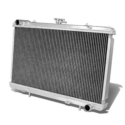 DNA Motoring RA-SRS13-2 2-Row Full Aluminum Radiator(海外取寄せ品)[汎用品]