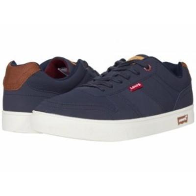 Levis(R) Shoes リーバイス メンズ 男性用 シューズ 靴 スニーカー 運動靴 Alpina Pin Perforated Casual Navy/Burgundy【送料無料】