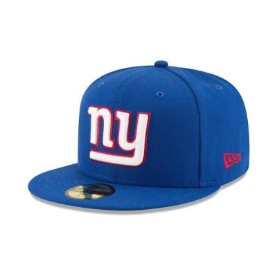 ニューエラ 帽子 アクセサリー メンズ New York Giants Team Basic 59FIFTY Fitted Cap RoyalBlue/RoyalBlue