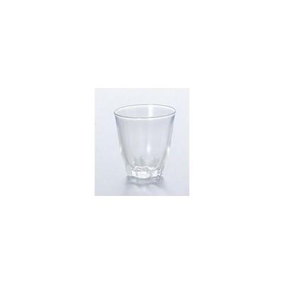 ガラス製品 五角台付(小) (12個入) [D49 x 50(最大径49)mm40cc]  料亭 旅館 和食器 飲食店 業務用