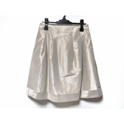 ランバンコレクション LANVIN COLLECTION スカート サイズ42 L レディース ライトグレー【中古】20200630