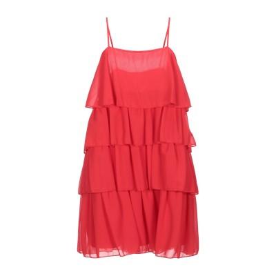 VICOLO ミニワンピース&ドレス レッド S ポリエステル 100% ミニワンピース&ドレス