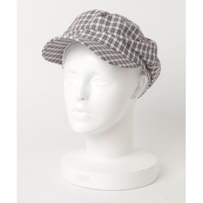 atmos pink / Fone チェック柄 キャスケット WOMEN 帽子 > ハット