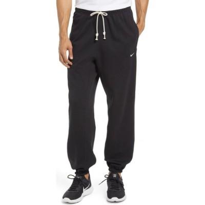 ナイキ NIKE メンズ ジョガーパンツ ドライフィット ボトムス・パンツ Men's Dri-FIT Standard Issue Joggers Black/Pale Ivory