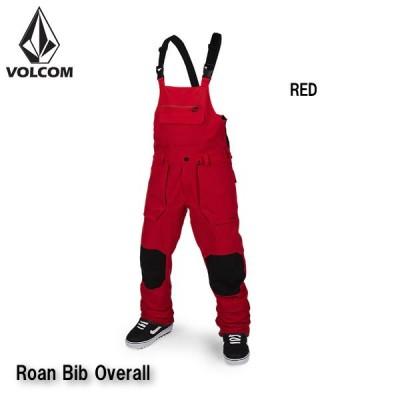 ボルコム ウェア ビブパンツ 20-21 VOLCOM Roan Bib Overall RED G1351909 ロアン ビブ オーバーオール 2021 日本正規品