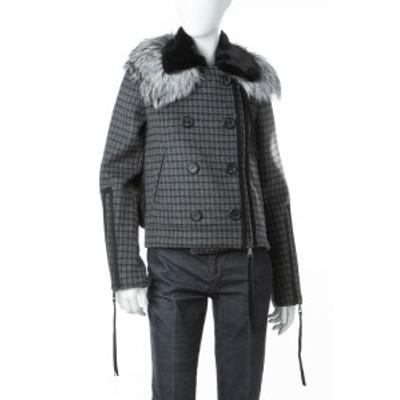 ヌメロヴェントゥーノ N°21 ブルゾン ジャケット グレー レディース (O022 3076) 送料無料