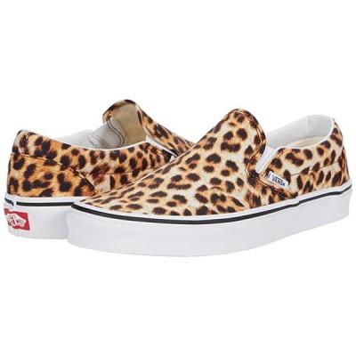 バンズ Classic Slip-On メンズ スニーカー 靴 シューズ (Leopard) Black/True White