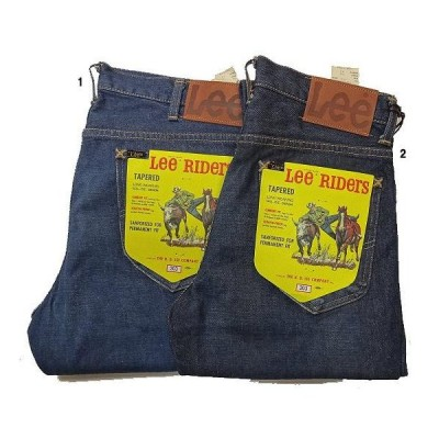 Lee AMERICAN RIDERS 203 テーパードジーンズ 加工デニム メンズ デニムパンツ ジーパン