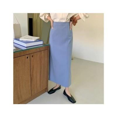 From Beginning レディース スカート Vogue H-line long skirt