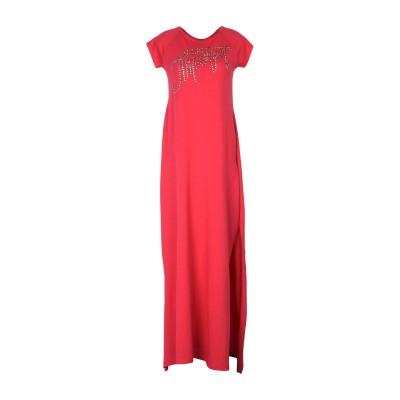 アイムパーフェクト !M?ERFECT ロングワンピース&ドレス レッド XS コットン 100% ロングワンピース&ドレス