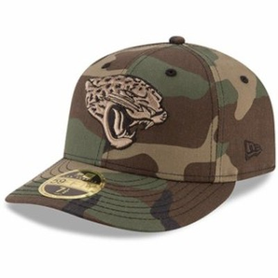 New Era ニュー エラ スポーツ用品  New Era Jacksonville Jaguars Woodland Camo Low Profile 59FIFTY Fitted Hat
