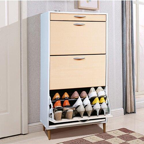 《C&B》第二代日式大容量薄型三層鞋櫃