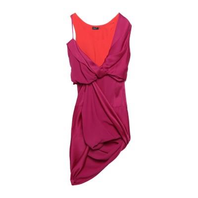 ATLEIN ミニワンピース&ドレス レッド 36 アセテート 73% / レーヨン 27% ミニワンピース&ドレス