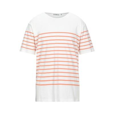 MINIMUM T シャツ オレンジ S コットン 100% T シャツ