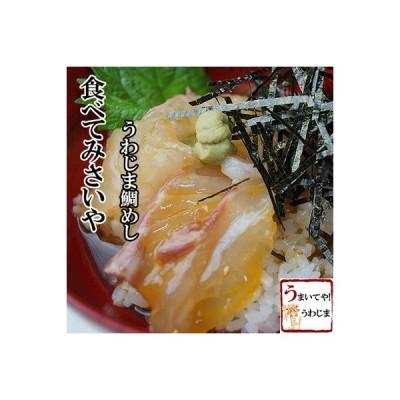 愛媛宇和島 鯛めし(秀長水産)3食セット■健康真鯛を使用 素朴で豪快なふるさとの味 秘密のケンミンshow【冷凍】