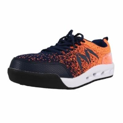 丸五 マンダムニット オレンジ 28.0cm #001 安全作業靴 JSAA認定