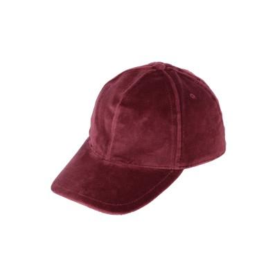 ドルチェ & ガッバーナ DOLCE & GABBANA 帽子 ボルドー 57 コットン 98% / シルク 2% 帽子