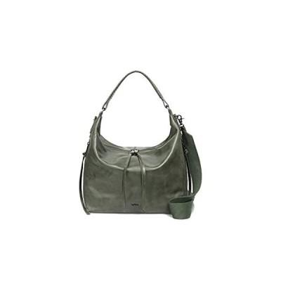 Botkier Women's Leather Samantha Hobo Shoulder Crossbody Bag Pine