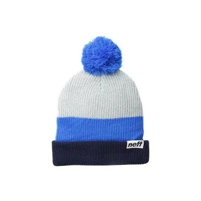 ネフ ヘッドウェア 帽子 ハット ビーニー ニット帽 Neff 帽子 キャップ ハット - Neff ビーニー - Snappy - ネイビー ワンサイズ