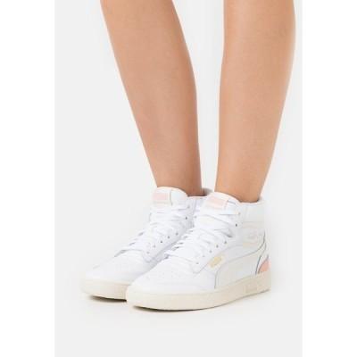 プーマ スニーカー レディース シューズ RALPH SAMPSON MID  - High-top trainers - white/marshmallow/apricot blush