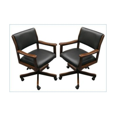 Fairview Game Rooms Two Signature Game Chairs (Chestnut)並行輸入品