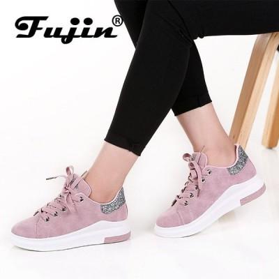 お得! Fujin Brand 2018 Spring Women New sneakers Autumn Soft Comfortable Casual Shoes Fashion