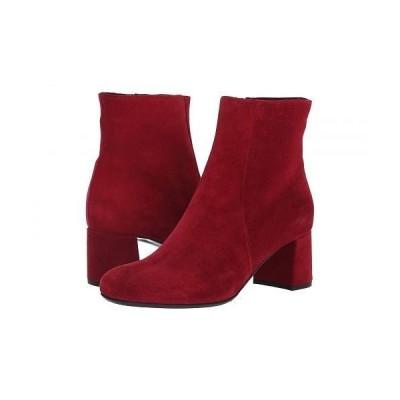 La Canadienne ラカナディアン レディース 女性用 シューズ 靴 ブーツ アンクルブーツ ショート Jiji - Red Suede