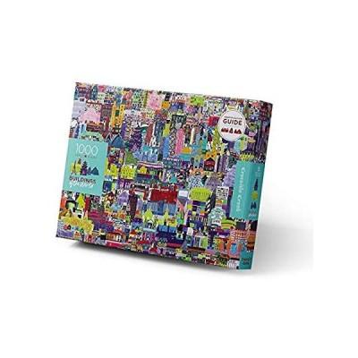 並行輸入品 Crocodile Creek - Buildings of The World - 1000-piece Family Jigsaw Puzzle