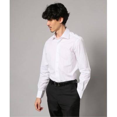 【エディフィス】 セミワイド ウインドペンシャツ メンズ ホワイト 37 EDIFICE