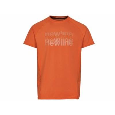 ニューライン:【メンズ】ランニングティーシャツ【newline スポーツ トレーニング 半袖 Tシャツ】