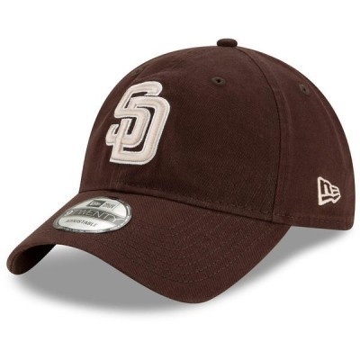 ニューエラ メンズ 帽子 アクセサリー San Diego Padres New Era Alternate Replica Core Classic 9TWENTY Adjustable Hat