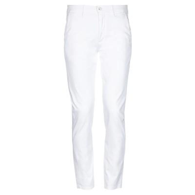 SSEINSE パンツ ホワイト 52 コットン 98% / ポリウレタン 2% パンツ