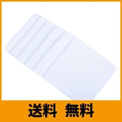 SINLAND 吸水 マイクロファイバー 食器 拭き ワッフルタオル ふきん ディッシュクロス(ホワイト 6枚)