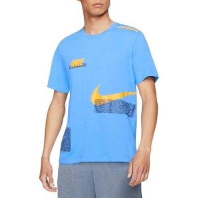 ナイキ メンズ Tシャツ トップス Nike Men's Dri-FIT Graphic Training T-Shirt Coast