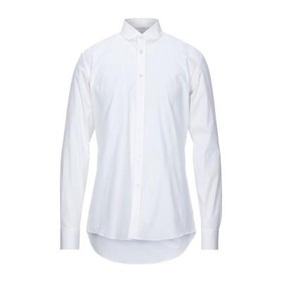 ダニエル アレッサンドリーニ DANIELE ALESSANDRINI シャツ ホワイト 41 コットン 96% / ポリウレタン 4% シャツ