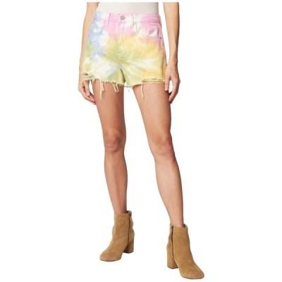 ブランクニューヨーク レディース ハーフパンツ・ショーツ ボトムス The Barrow Hi Rise Tie-Dye Shorts
