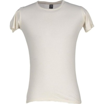 オルタナティヴ ALTERNATIVE メンズ Tシャツ トップス T-Shirt Ivory