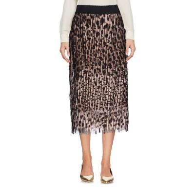 ドルチェ & ガッバーナ DOLCE & GABBANA 7分丈スカート ベージュ 38 ポリエステル 100% 7分丈スカート