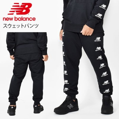 new balance ニューバランス スウェット パンツ メンズ ブラック ロングパンツ 2020秋新作 amp03560