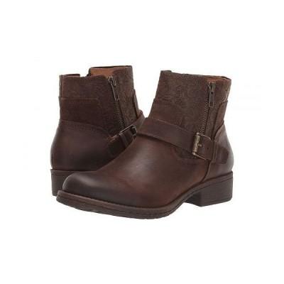 Comfortiva コンフォーティヴァ レディース 女性用 シューズ 靴 ブーツ アンクル ショートブーツ Sterns - Cocoa Brown Dusky/Floral Emboss