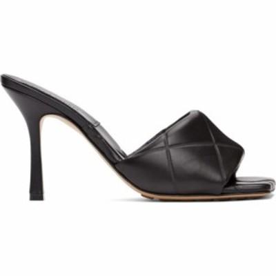 ボッテガ ヴェネタ Bottega Veneta レディース サンダル・ミュール シューズ・靴 Black The Rubber Lido Heeled Sandals Black