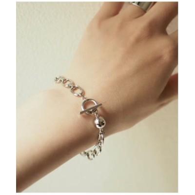 ブレスレット 【ODELE】slaps chain(MA)