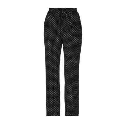 ツインセット シモーナ バルビエリ TWINSET パンツ ブラック 42 レーヨン 100% パンツ