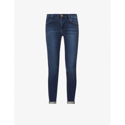 ジェイ ブランド J BRAND レディース ジーンズ・デニム スキニー ボトムス・パンツ Alana skinny high-rise cotton-blend denim jeans Fasten