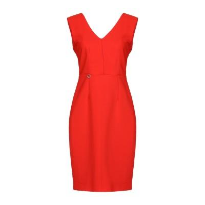 MANGANO ミニワンピース&ドレス レッド 46 95% ポリエステル 5% ポリウレタン ミニワンピース&ドレス